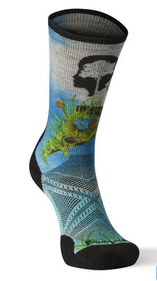 Outdoor Afro Hike Smartwool Sock